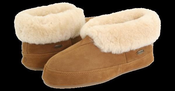 Complete-Sheep-Shoppe-Acorn-Sheepskin-Bootie-II-Walnut