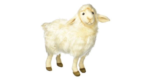 Complete-Sheep-Shoppe-Hansa-Sheep-Mama-White-14-inch