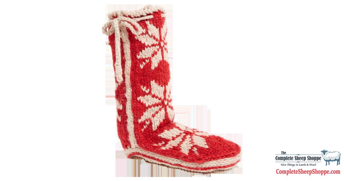 Complete-Sheep-Shoppe-Woolrich-Chalet-Socks-Grey